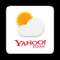 Yahoo!天気 - 雨雲の接近や台風の進路がわかる気象予報レーダー搭載アプリ icon