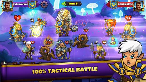 Duel Heroes CCG [Mod] Apk - Cuộc chiến thẻ bài
