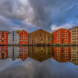 Trondheim, Norway  by Grete Øiamo - Buildings & Architecture Public & Historical