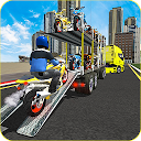 Racing Bike Transport Cargo Truck Driver 3D APK