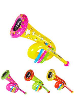 Uppblåsbar trumpet