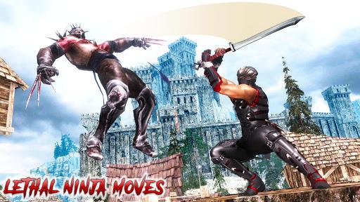 Télécharger Ninja Assassin Warrior Death Survival Zombie War APK MOD (Astuce) screenshots 2