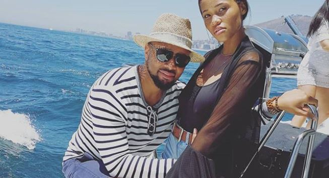 Image result for Palesa Morgan gushes over her man, Phat Joe