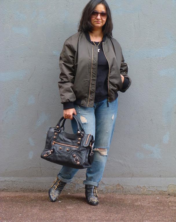 Balenciaga City Bag, Chloe Susan Boots