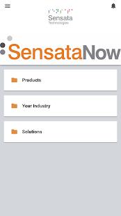 SensataNow - náhled