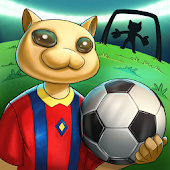 Soccer Foozy Kitty: Cat foosball Stars