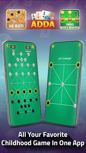 Adda : Rummy , Callbreak ,Solitaire & 29 Card Game modavailable screenshots 8