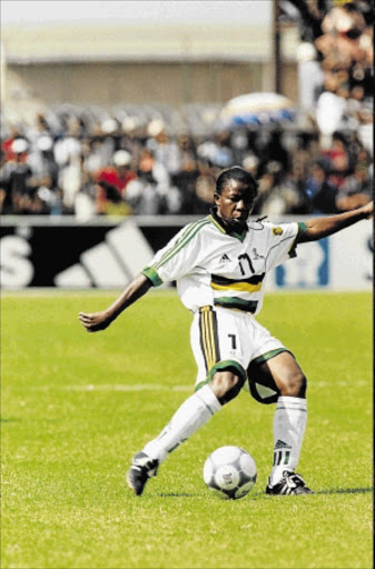 ANNA Monate possessed all the qualities of a brilliant soccer player - dribbling  skills 5e686a988