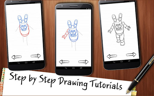 Draw Five Nights at Freddy's