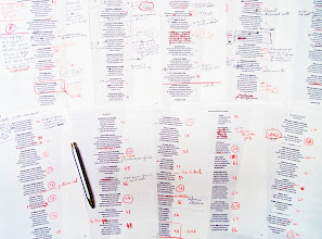 Photo: esborranys i eines d'escriure 2013; Ferran Cerdans Serra @ Llibres Artesans