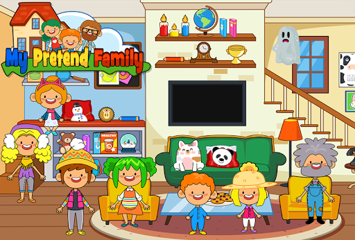 My Pretend Home & Family - Kids Play Town Games! android2mod screenshots 9