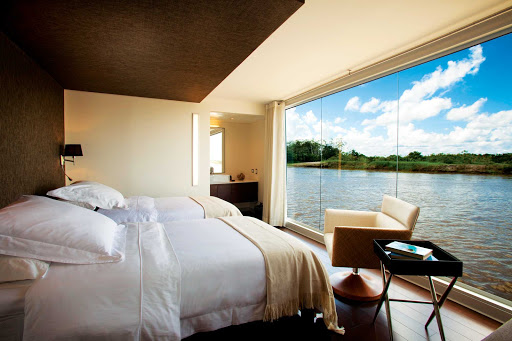 Aria-interior-stateroom - Explore the Amazon in comfort and style aboard Avalon's Aria.