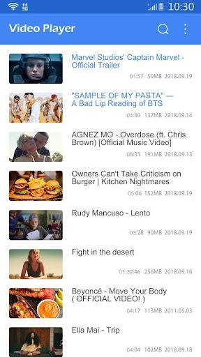 Video Player All Formats 1.2 screenshots 1