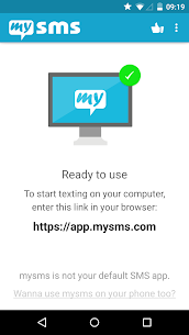 mysms SMS Text Messaging Sync App Download For Android and iPhone 1