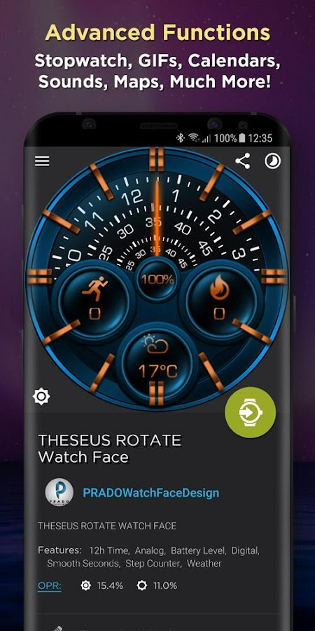WatchMaker Premium License- screenshot