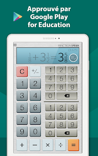 Calculatrice Fraction Gratuite Capture d'écran
