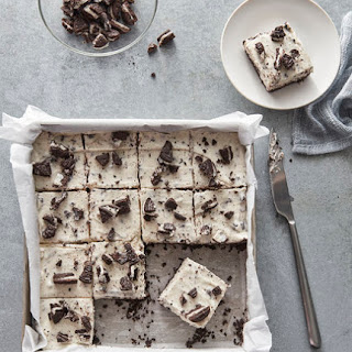 No-Bake Cookies and Cream Bars.