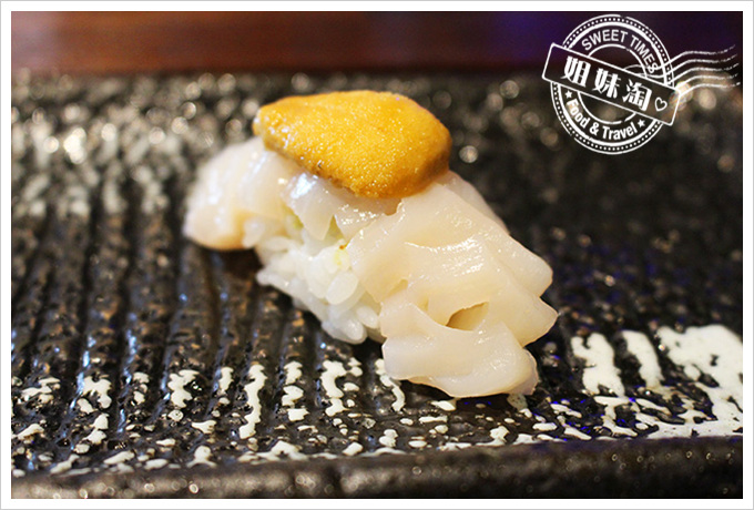 高雄 全壽司 干貝握壽司90元