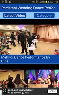 Pakistani Wedding Dance Performance Videos - náhled