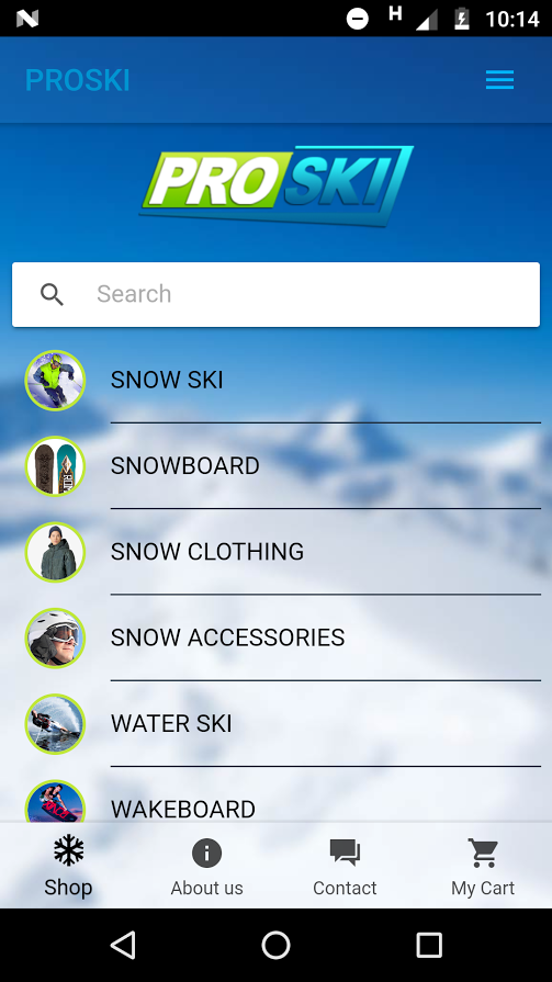PROSKI SNOW AND WATERSPORTS- screenshot