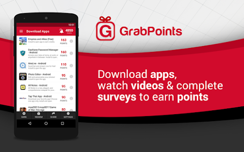 GrabPoints - Free Gift Cards- screenshot thumbnail