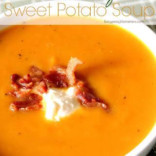 Bacon Rosemary Sweet Potato Soup.