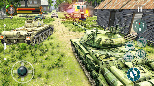 Battle Tank games 2020: Offline War Machines Games 1.6.1 screenshots 2