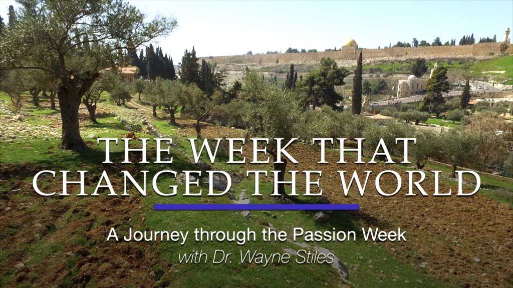 Journey through the Passion Week - Episode 1