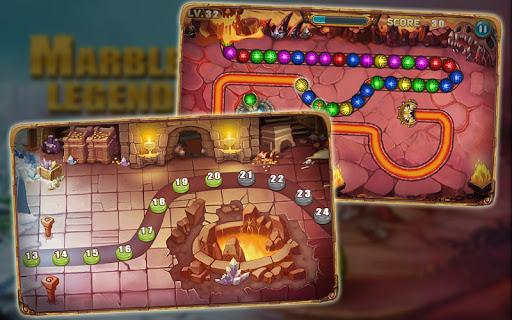 玩免費解謎APP|下載大理石の伝説 - パズルゲーム app不用錢|硬是要APP