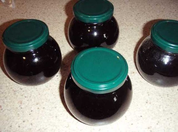 Remove from heat and pour into sterilised jars.  Seal and allow to cool...