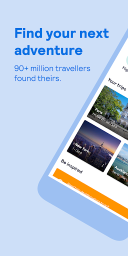 Skyscanner – cheap flights, hotels and car rental screenshot 1