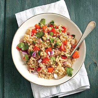 Red Pepper Couscous.