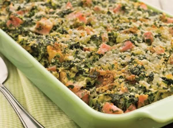 Ham Strata For Easter! Recipe
