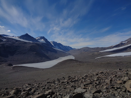 Greetings from the Antarctic Dry Valleys! (from Josh Darling)