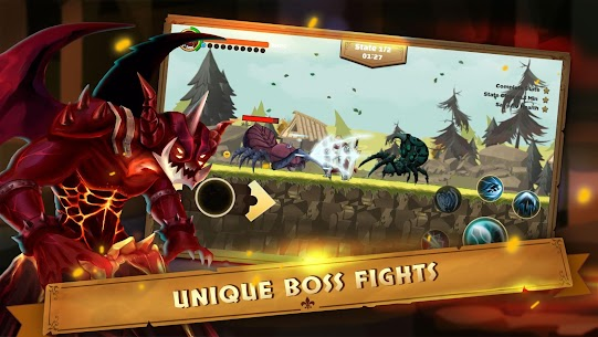 Guardian Knight Z: legend of fighting games Mod Apk Download For Android and Iphone 4