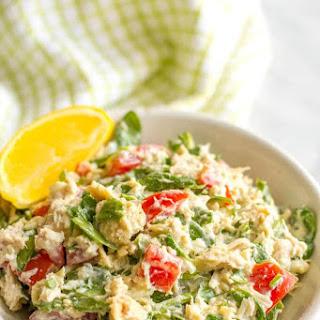 Tuna Spinach Salad.