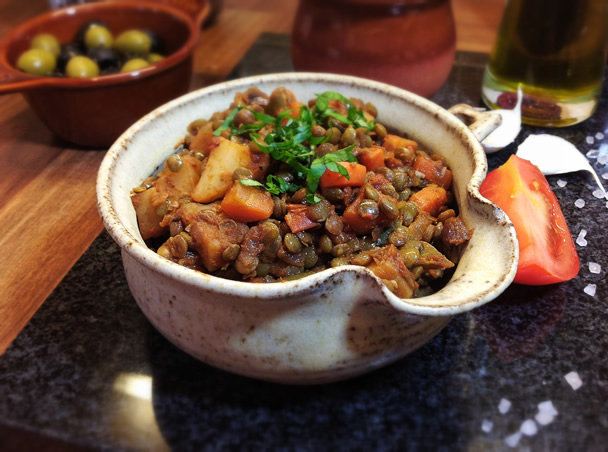 Lentejas Caseras ~ Traditional Spanish Lentils Recipe