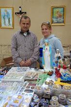 Photo: Christians selling devotional items, Shaqlawa 2014