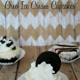 Oreo Ice Cream Cupcakes