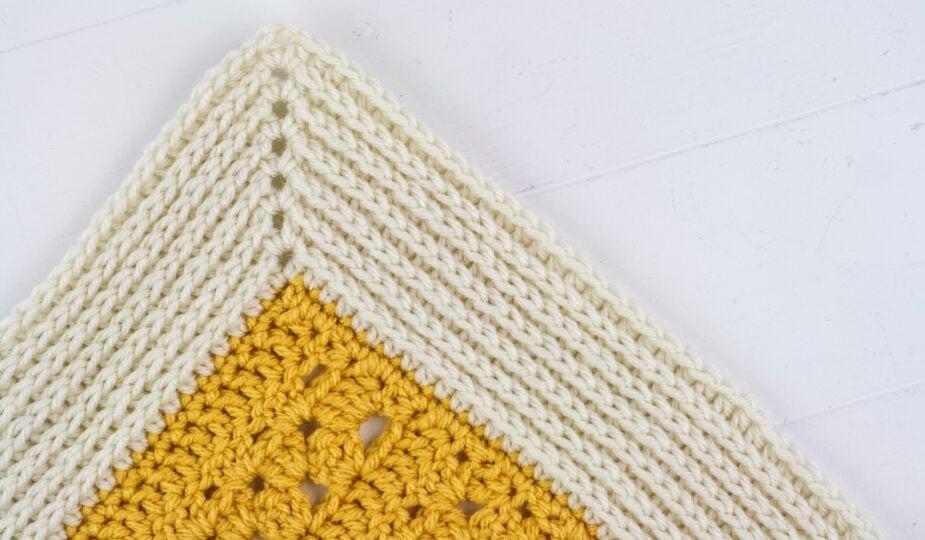 camel stitch crochet border