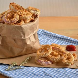 Baked Rosemary Onion Rings