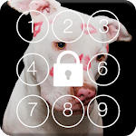 Lovely Love Dog Screen Lock icon