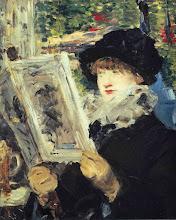 "Photo: Éduard Manet, ""Donna che legge"" (1880)"