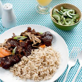 Korean Beef and Mushroom Stew Recipe