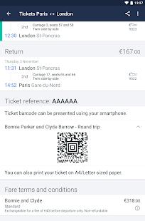 Captain Train: train tickets Screenshot 19