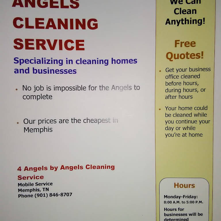 4 Angels By Angels Cleaning Service - Cleaning Service