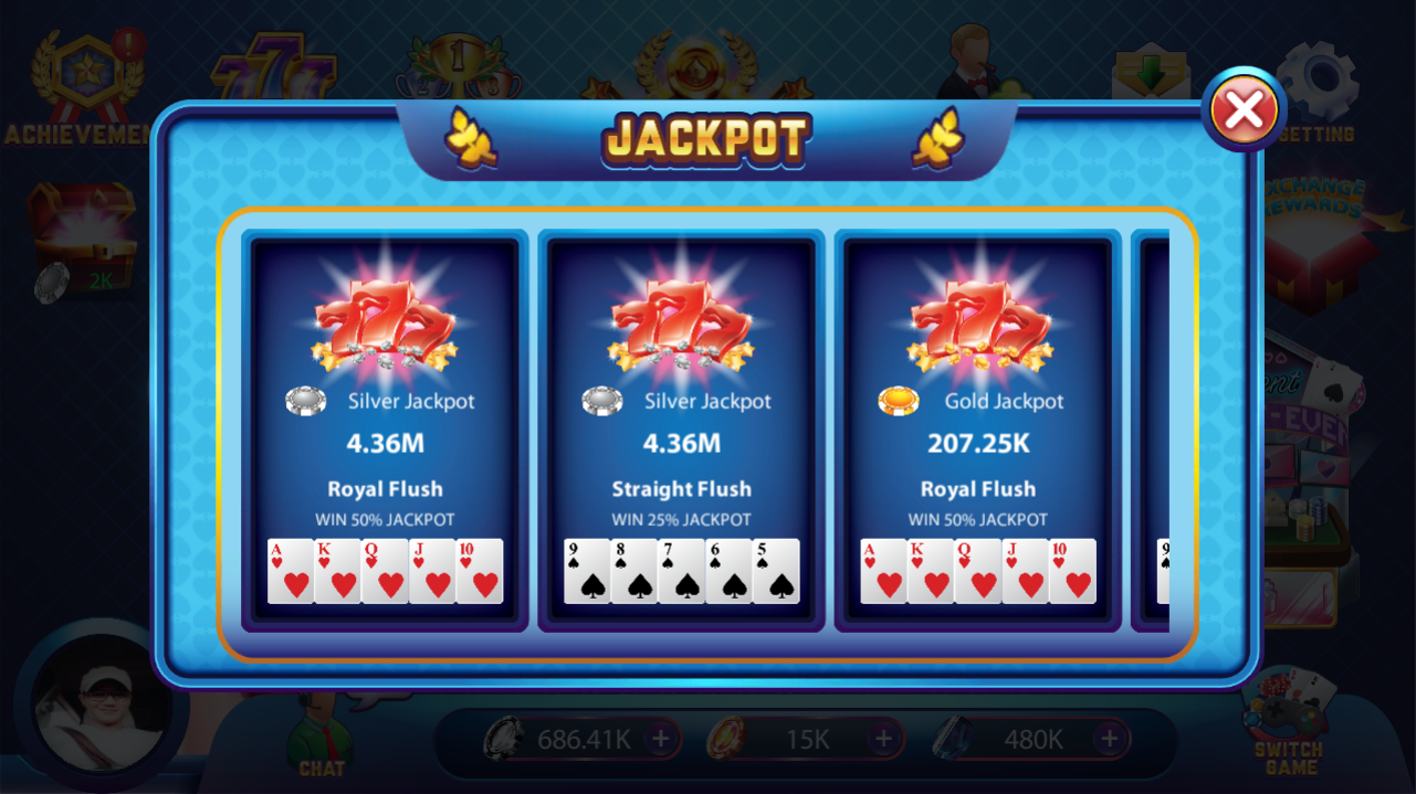 Big Wins Poker- screenshot