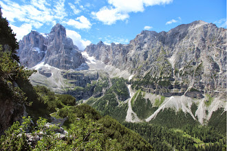 Photo: Crozzon di brenta e Fracingli
