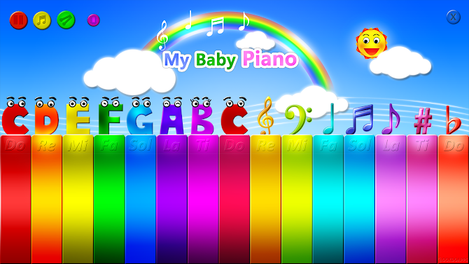 My baby Piano Android 5
