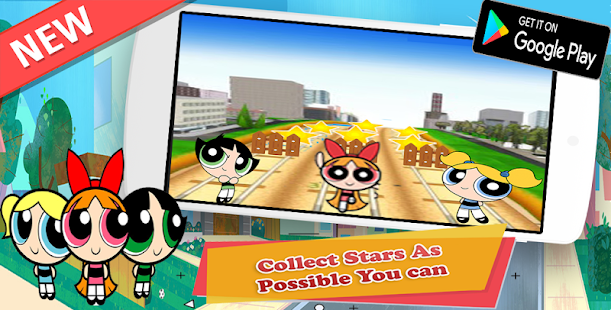 PowerPuff Girls : Run Kids Game - náhled
